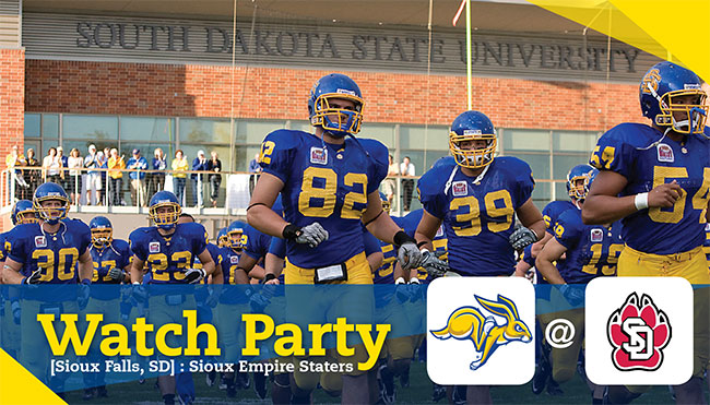 Sioux Empire Staters Watch Party - SDSU @ USD
