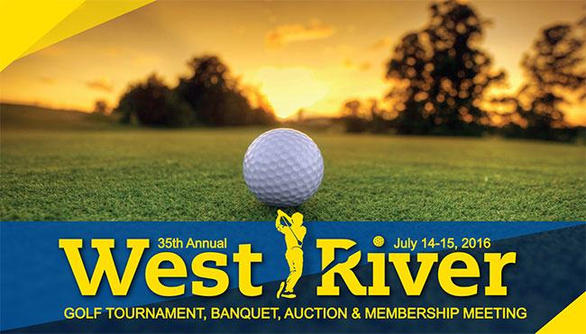 [Spearfish, SD] : 35th Annual West River Golf Tournament, Banquet & Auction